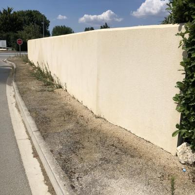 Nettoyage des murs
