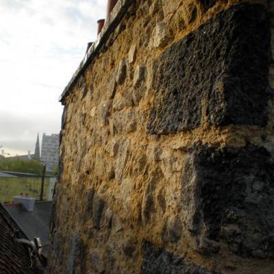 Rénovation d'une cheminée qui était à loin de s'écrouler