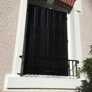 Garde-corps et tour de fenêtre après travaux