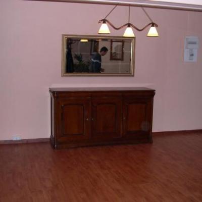 Transformation d'un garage en salle à manger