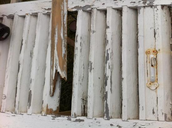rénovation de volet bois # Reparation Volet Bois
