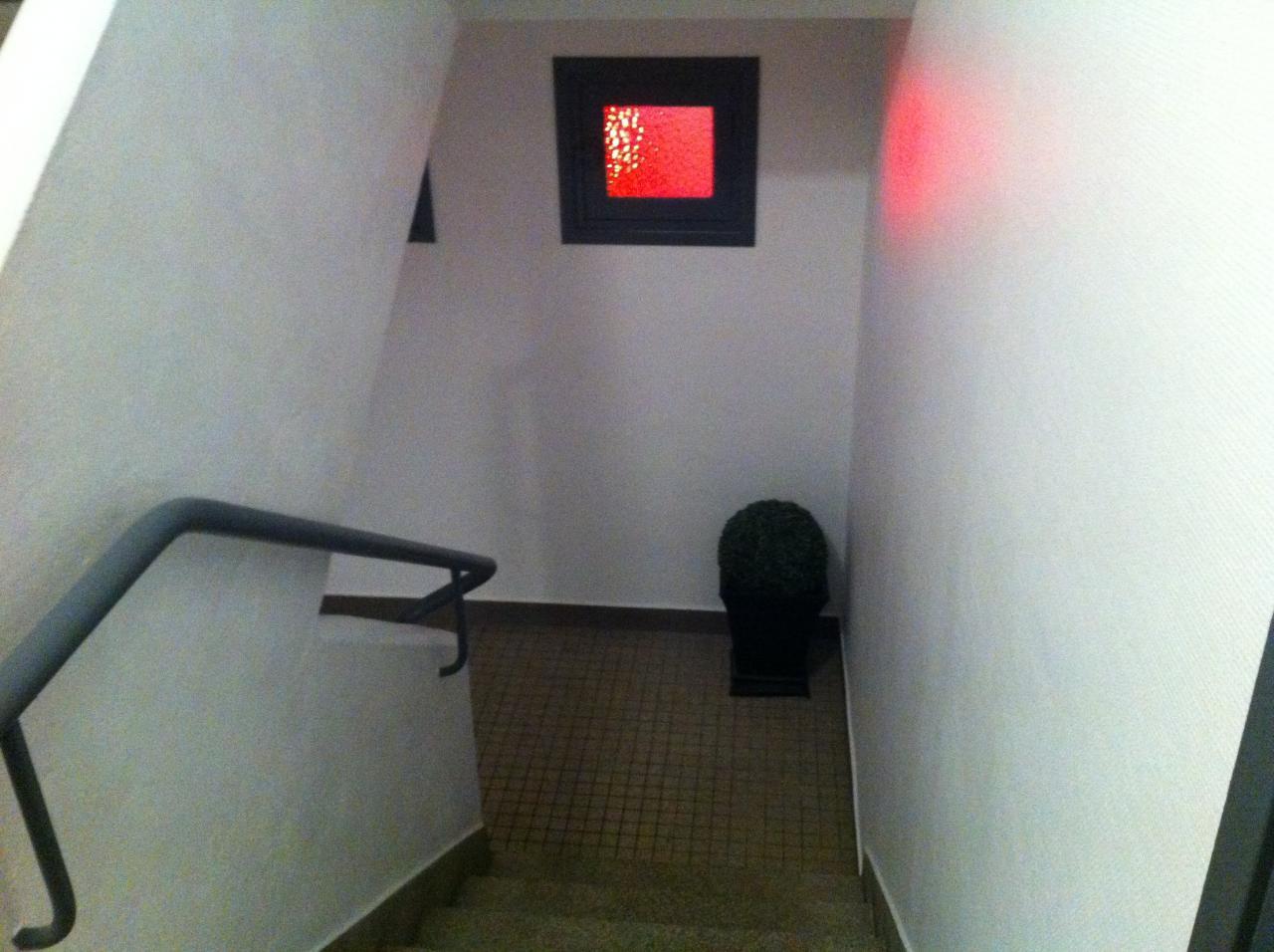 Cage d'escalier après travaux