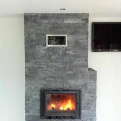 Création de cheminée intérieure